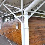 Barwest Fabrications modern farm barn structure