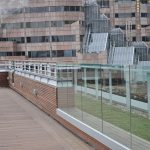 Skylounge rooftop bar balustrades and railings