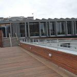 Skylounge rooftop bar balustrades and railings