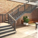 Investec staircase